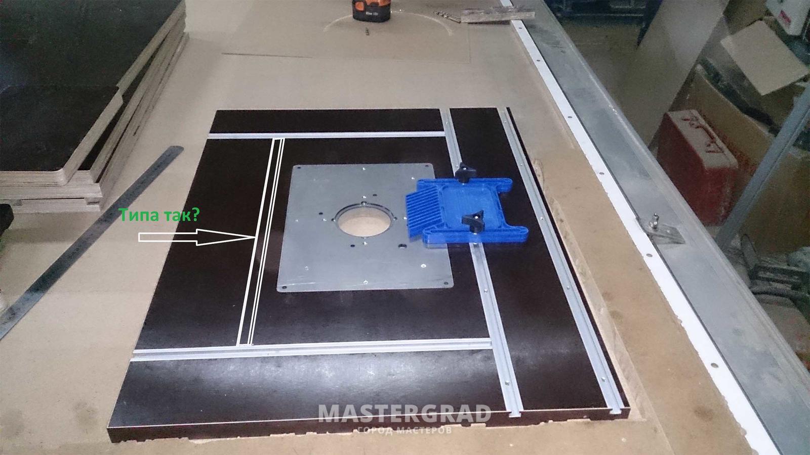 Универсальный стол для фрезера и циркулярМонтаж котлов