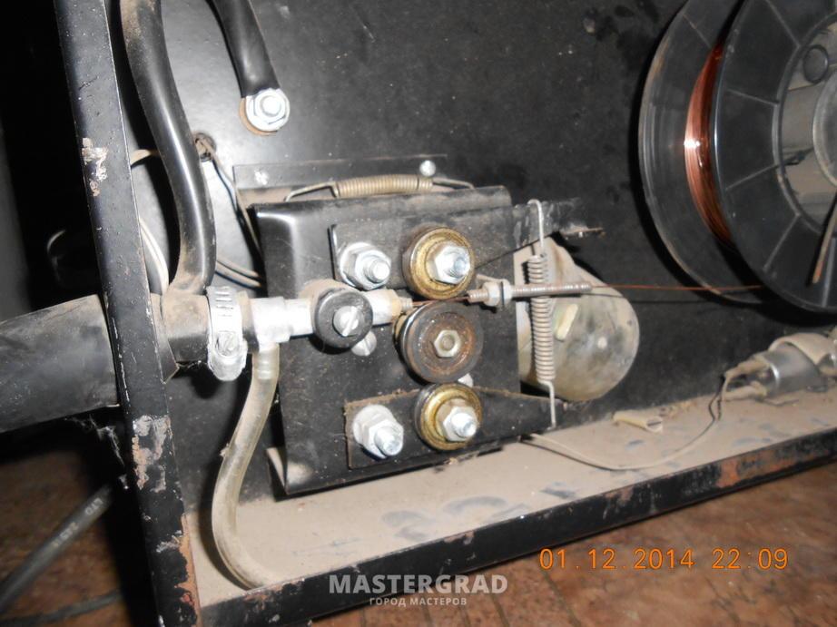двух сварочных агрегатов