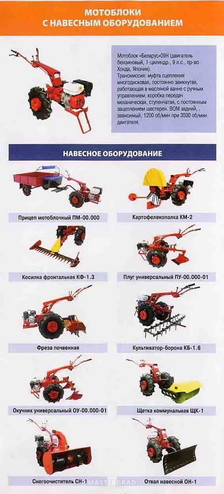 Мотоблок Беларус-09Н - отзывы,