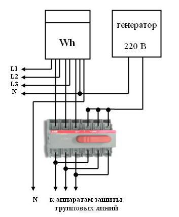 Схема подключения abb ot40f3c.