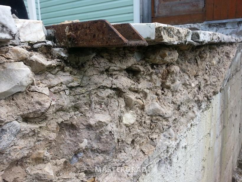 Разрушающийся бетон блоки керамзитобетон газобетон пенобетон