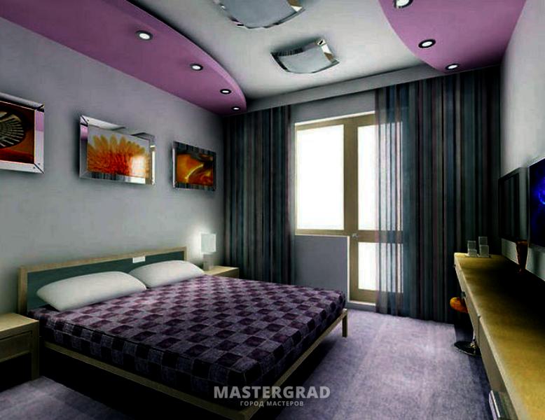 Евроремонт спальня фото