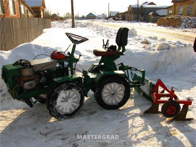 Самоделки своими руками трактора
