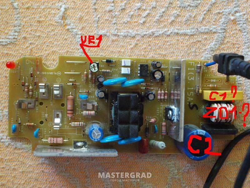 схема зарядного устройства uc18yg схема.