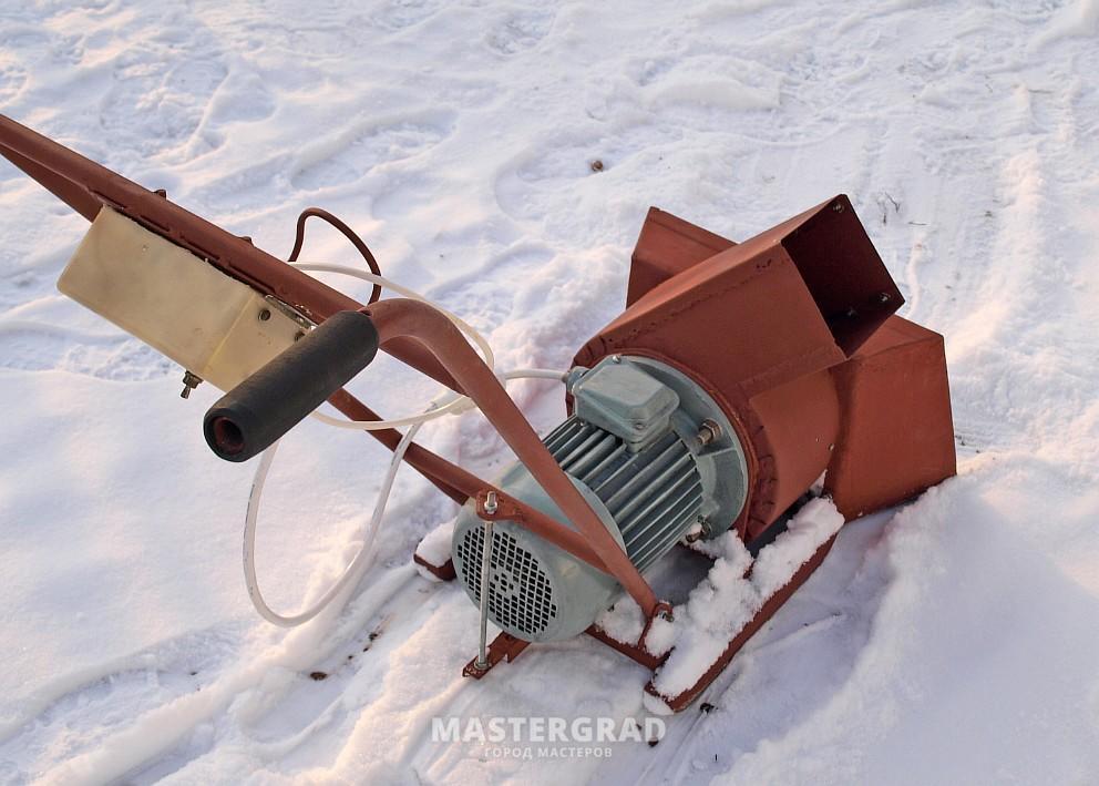 Как сделать снегомет своими руками