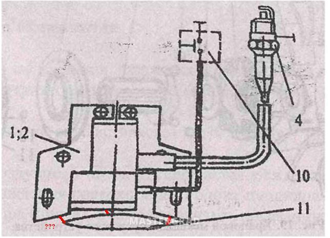 схема зажигания мотоблок субару