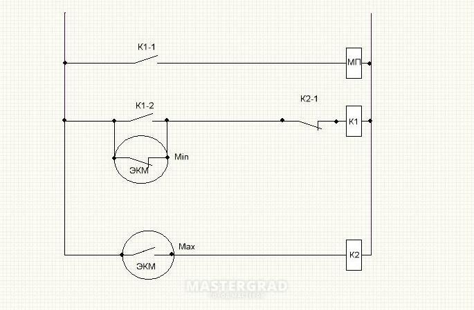 напруга на ЭКМ- 380 вольт