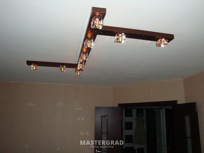 Потолочный светильник своими руками фото
