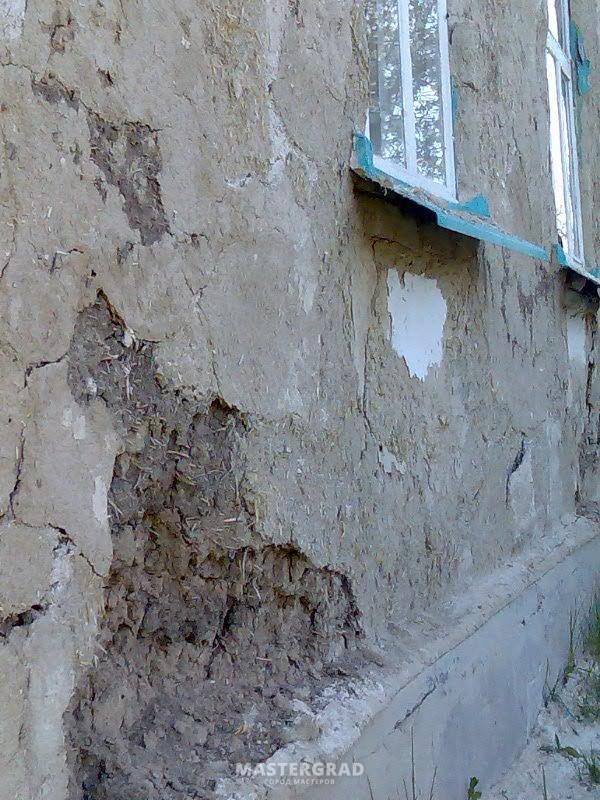 как штукатурить цементным раствором саманные стены