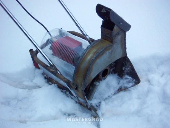 электро снегоуборщик