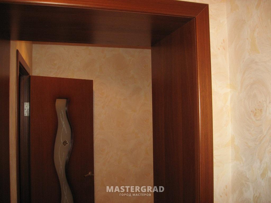Чем оформить дверной проем без двери своими руками фото