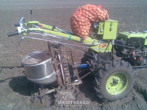 Картофелесажалка своими руками видео фото