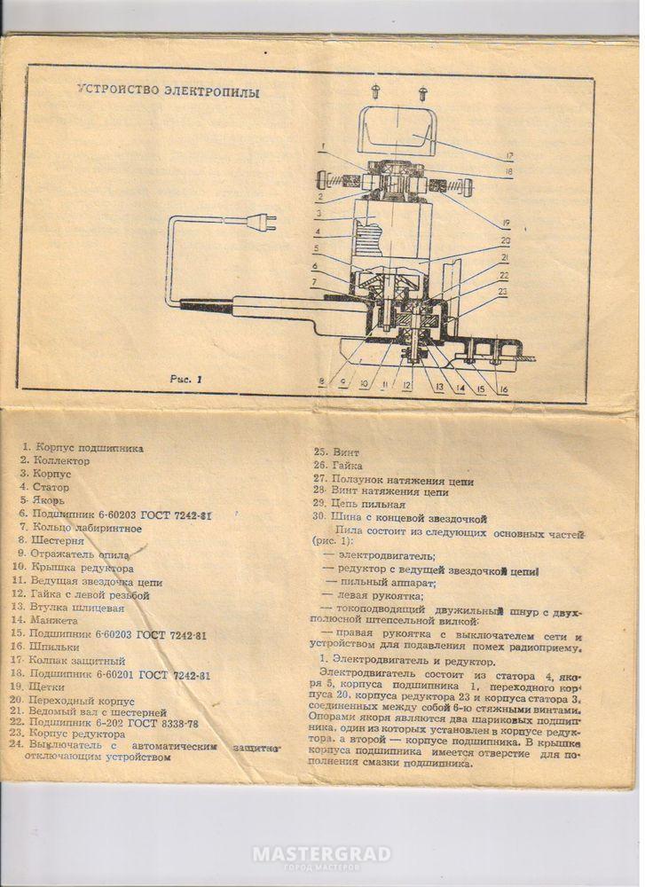 Инструкция к Парме