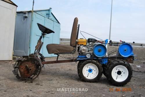 тракторов из мотоблоков,