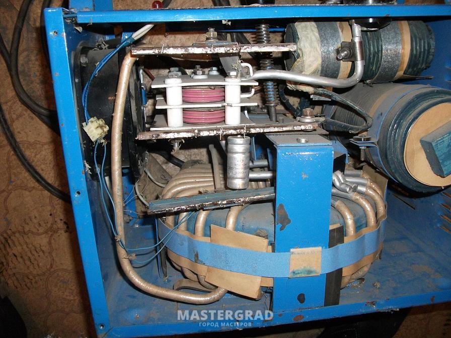 Дуга 318М1 225 В. Накрылись