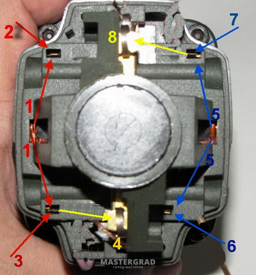 выключатель (БУЭ) 7-вывод