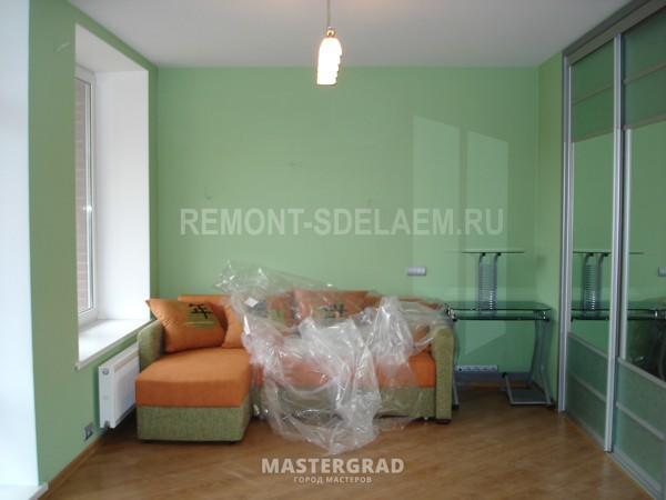 Ремонт гостиной в квартире в