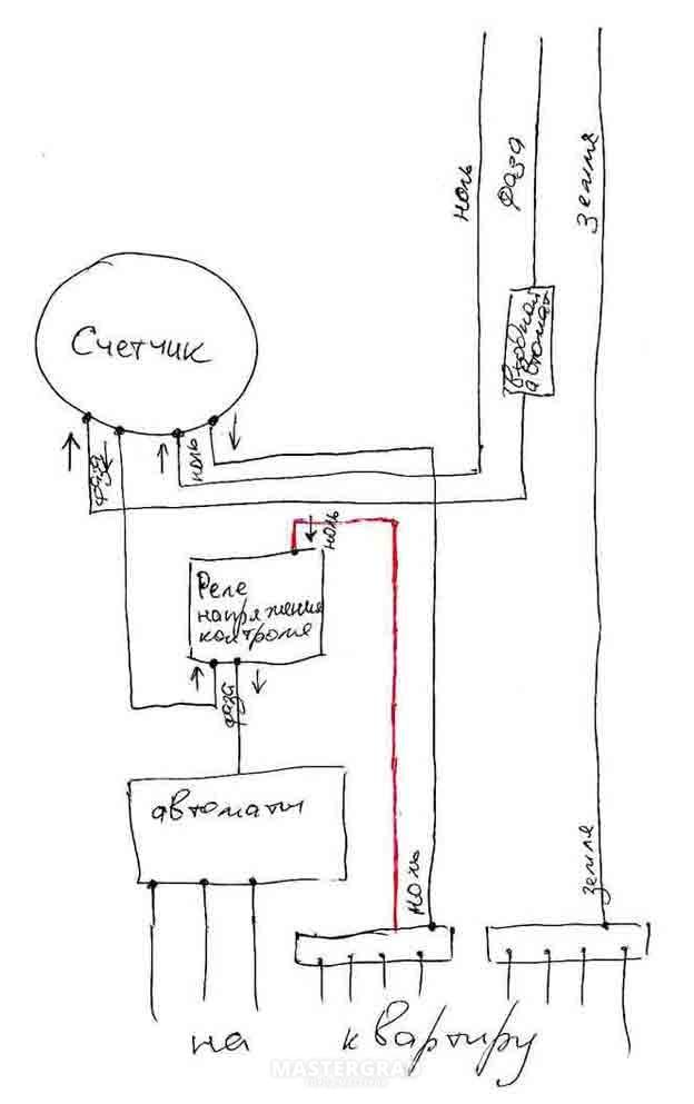 Инструкция вложена Схему